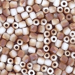 4 Dozen Czech 2mm Fire-Polished Glass Beads - Chalk White Celsian Matte