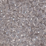4 Dozen Czech 4mm Fire-Polished - Clear