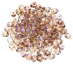 7.5 Grams - Superduo Beads - Crystal Clarit
