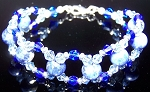A Vision in Sodalite Bracelet Beaded Jewelry Making Kit