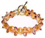 Apricot Dreams Bracelet Beaded Jewelry Making Kit