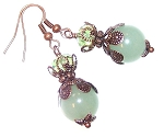 Aventurine Dream Earrings Beaded Jewelry Making Kit
