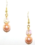 Blissful Pearls Earrings Beaded Jewelry Making Kit