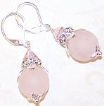 Blushing Beauty Earrings Beaded Jewelry Making Kit