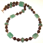 Bronzite Beauty Necklace Beaded Jewelry Making Kit