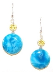 Crazy For Blue Earrings Beaded Jewelry Making Kit