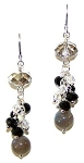 Crystal Celebration Earrings Beaded Jewelry Making Kit