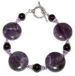 Enchanted Amethyst Bracelet Beaded Jewelry Making Kit