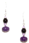 Enchanted Amethyst Earrings Beaded Jewelry Making Kit