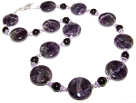 Enchanted Amethyst Necklace Beaded Jewelry Making Kit