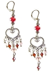 Everlasting Romance Earrings Beaded Jewelry Making Kit