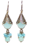 Exquisite Amazonite Earrings Beaded Jewelry Making Kit