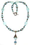 Exquisite Amazonite Necklace Beaded Jewelry Making Kit