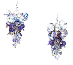 Gleaming Cascade Earrings Beaded Jewelry Making Kit