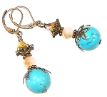 Glistening Drops Earrings Beaded Jewelry Making Kit