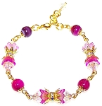 Glowing Flowers Bracelet Beaded Jewelry Making Kit