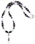 Grape Sensation Necklace Beaded Jewelry Making Kit