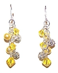 Lemon Meringue Earrings Beaded Jewelry Making Kit