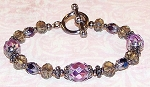 Metallic Purple Bracelet Creative Bead Kit