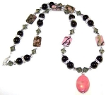 Midnight Passion Necklace Beaded Jewelry Making Kit