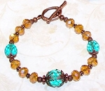 Mountain Sunset Bracelet Beaded Jewelry Making Kit