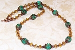 Mountain Sunset Necklace Beaded Jewelry Making Kit