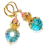Ocean Sunrise Earrings Beaded Jewelry Making Kit