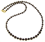 Onyx and Hematite Beauty Necklace Beaded Jewelry Making Kit