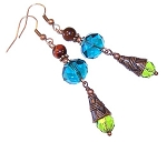 Peaceful Ambiance Earrings Beaded Jewelry Making Kit