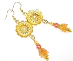 Sensational Sunshine Earrings Beaded Jewelry Making Kit