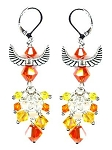 Soaring Phoenix Earrings Beaded Jewelry Making Kit