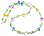 Spring Blossoms Necklace Beaded Jewelry Making Kit