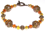 SunBurst Delight Bracelet Beaded Jewelry Making Kit