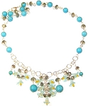 Turquoise Temptation Necklace Beaded Jewelry Making Kit