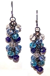 Twilight Sparkles Earrings Beaded Jewelry Making Kit