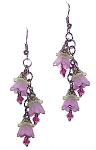 Whimsical Blooms Earrings Beaded Jewelry Making Kit