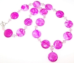 Wild For Pink Necklace Beaded Jewelry Making Kit