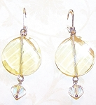 Yellow Bliss Earrings Beaded Jewelry Making Kit