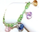 Spring Blossoms Bracelet Beaded Jewelry Making Kit