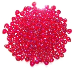 Miyuki Glass Fringe Drop Beads - Rainbow Red - Drop-254