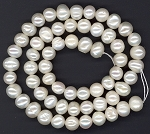 1 Strand of 6-7mm Natural Color Cultured Freshwater Pearls