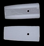 1 Pack of 2 Nylon Jaw Square Nose Replacement Heads