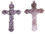 5 Pack of Pewter Crucifix #30 - 62x38mm