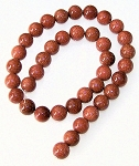1 Dozen Goldstone 10mm Round Semiprecious Gemstone Beads