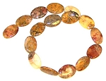 1 Strand of Crazy Lace Agate 18x25mm Puff Oval Semiprecious Gemstone Beads