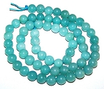 1 Dozen 6mm Round Semiprecious Gemstone Beads - Amazonite