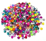 CLOSEOUT - 20 Grams of 4mm Czech Glass Fire-Polished Beads - Random Colors