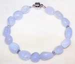 Blue Lace Simplicity Bracelet Beaded Jewelry Making Kit