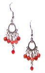 Burning Embers Earrings Beaded Jewelry Making Kit