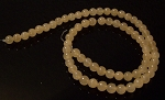 1 Strand of 6mm Round Semiprecious Gemstone Beads - Calcite